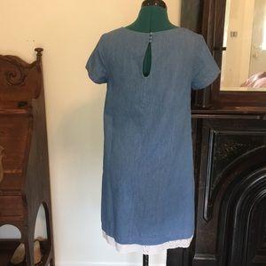 Modcloth Dresses - ModCloth blue embroidered cute dress